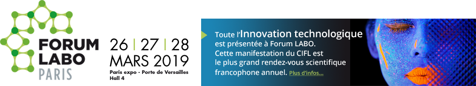 Forum Labo l'évènement - CIFL Comité interprofessionnel des fournisseurs du laboratoire