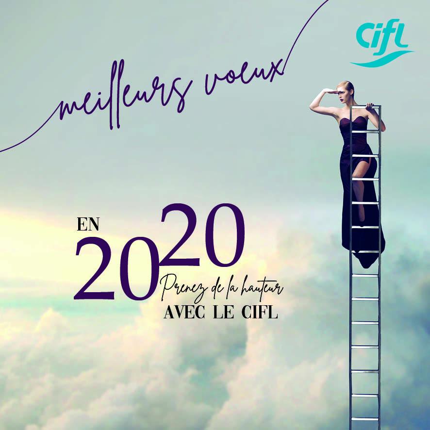 Meilleurs voeux 2020 - CIFL Comité interprofessionnel des fournisseurs du laboratoire